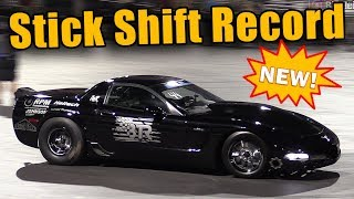 Twin Turbo Vette Becomes NEW Fastest Stick Shift GM in the World! (IT RIPS!!)
