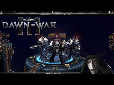 Assault Marines & Terminators   Warhammer 40,000: Dawn of War III - Space Marines vs Eldar