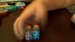 Tutorial - Bottiglietta con caramelle di Fimo