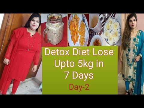 7 Days Detox Diet Challenge | Lose Upto 5kg in 7 Days|| DAY-2