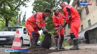 Власти Севастополя устраняют последствия разбушевавшейся стихии
