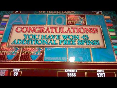 kilimanjaro slot machine