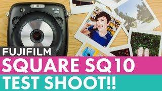 Fujifilm Instax Square SQ10 First Shots