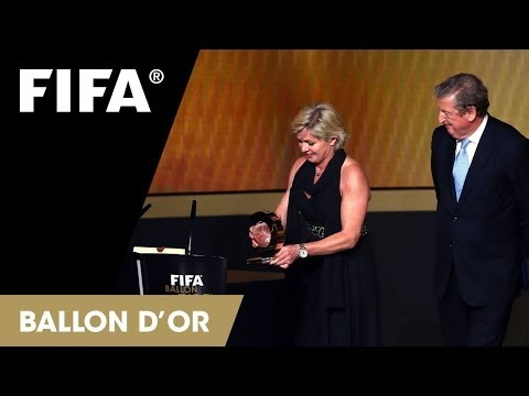 Silvia Neid: Women's Coach of the Year 2013