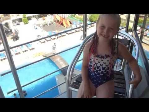 Анапа отель Понтос, бассейн глазами ребенка под Alan Walker