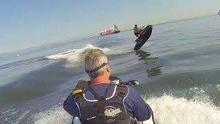 Jumping Ship Jet Ski Style