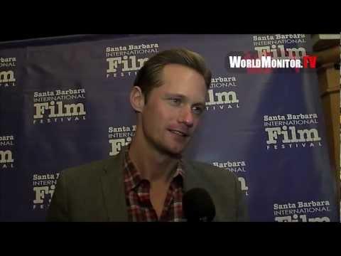Alexander Skarsgård from True Blood interviewed at 'Disconnect' U.S Film premiere