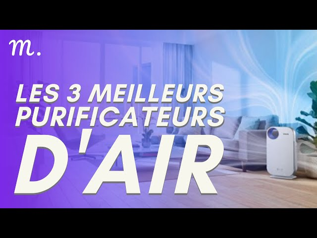 🥇TOP 3 PURIFICATEURS D'AIR (2021)