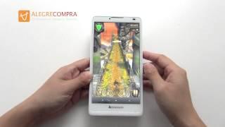 "Lenovo A880 - Smartphone 6.0"" Android 4.2 Quad Core MT6582 CPU 1GB RAM 8GB ROM 3G Dual SIM"