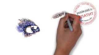Учимся рисовать глаза   Как нарисовать глаза человека карандашом поэтапно(как нарисовать глаз, как нарисовать глаза карандашом, как нарисовать глаза поэтапно, как нарисовать красив..., 2014-07-31T04:35:17.000Z)