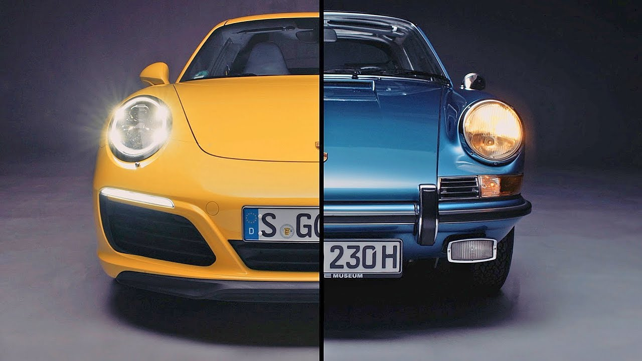 Porsche Evolution – Porsche 911 (2017) vs. Porsche 911 (1970)