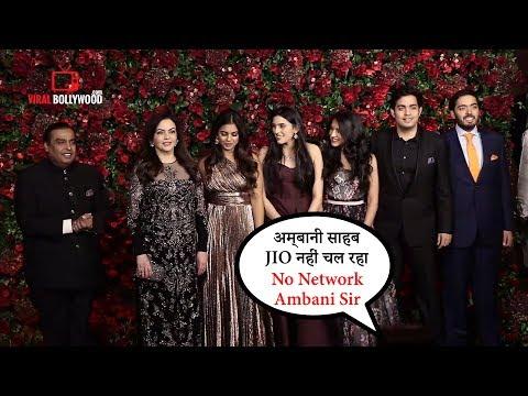 Jio nahi chal raha, Photographer quips when clicking Ambani at #DeeVeer Reception Party