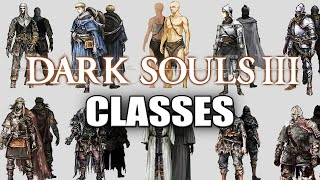 DARK SOULS 3 - GAMEPLAY C/ TODAS AS 10 CLASSES INICIAIS! PT-BR