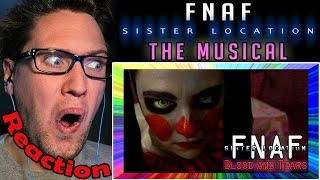 FNAF Sister Location: The Musical REACTION! | OH BABY I LOVE YOU! |
