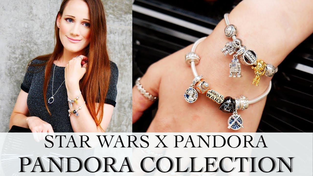 Star Wars Pandora Collection | Star Wars x Pandora Bracelet Designs
