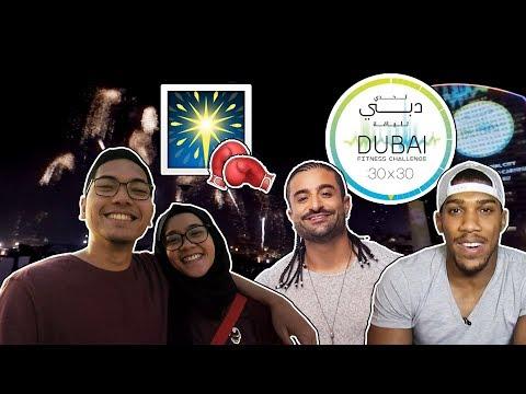 DUBAI FITNESS CHALLENGE DAY 30: CLOSING, ANTHONY JOSHUA AND KRIS FADE #DUBAI30x30