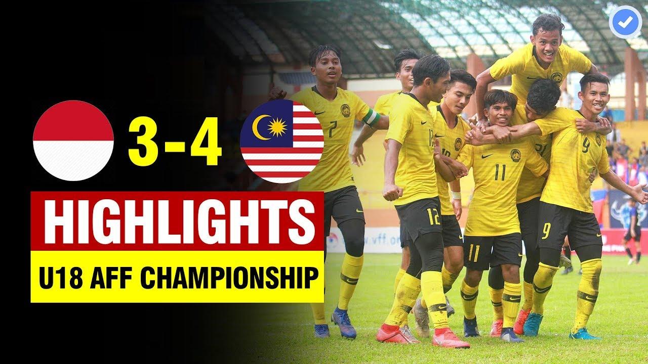 Indonesia 3-4 Malaysia | AFF U18 Championship 2019 | All Goals & Highlights 17/8/2019 HD