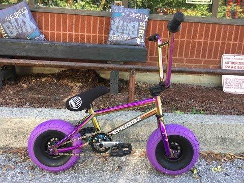 Oil Slick Mini BMX Pro Series Purple Unboxing @ Harvester Bikes