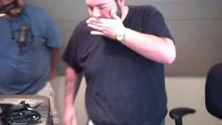 Mattman has to kiss Fatboy