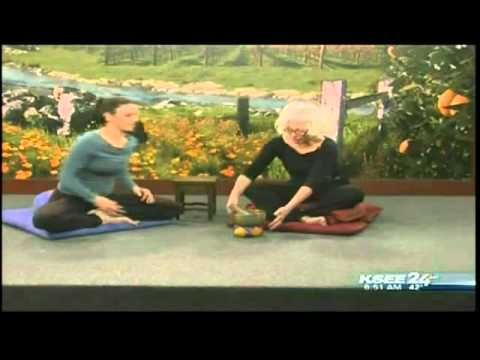 "Lori Granger & Katie Flinn on ""KSEE Sunrise"" in Fresno -- Meditation Workshop Promo"