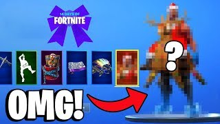 THE LAST 4 FREE CHRISTMAS GIFTS! | Fortnite 14 Days Christmas Challenge German
