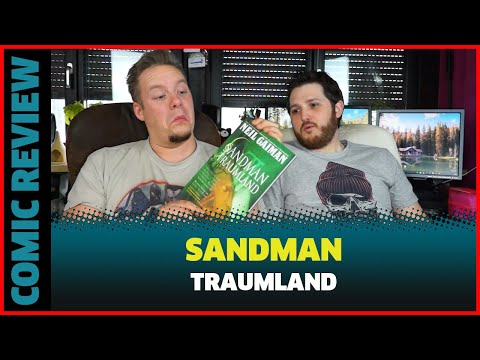COMIC REVIEW SANDMAN BAND 3 TRAUMLAND VON NEIL GAIMAN