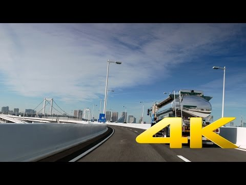 Driving from Toyosu to Ueno - Tokyo - 豊洲~上野 - 4K Ultra HD 🚙 🗼