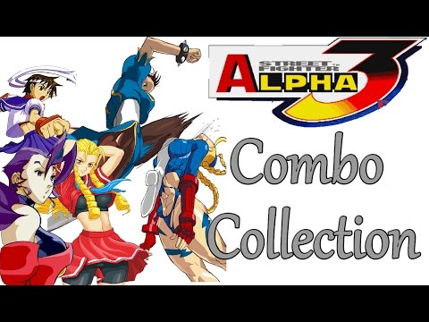 SFA3 Street Fighter Alpha 3 Combos Collection Stun and 100% HD