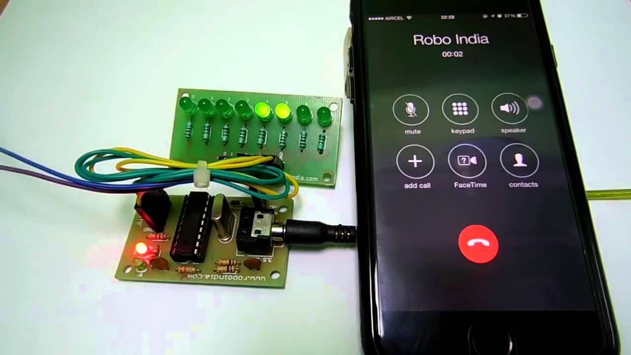 DTMF on Arduino - Robo India || Tutorials || Learn Arduino