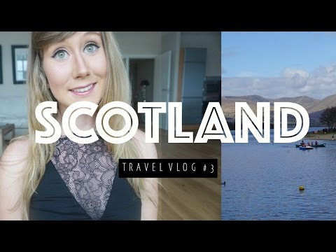 LOCH LOMOND, BEACHES, SCOTLAND // GLASGOW TRAVEL VLOG #3