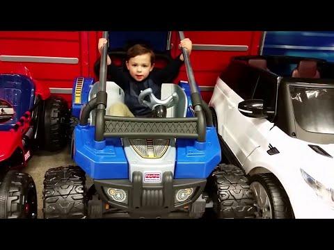 Power Wheels Toysrus Store Tour