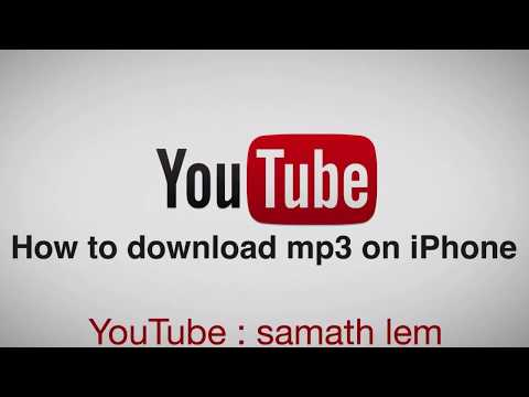 How to download mp3 & MP4 on your iPhone