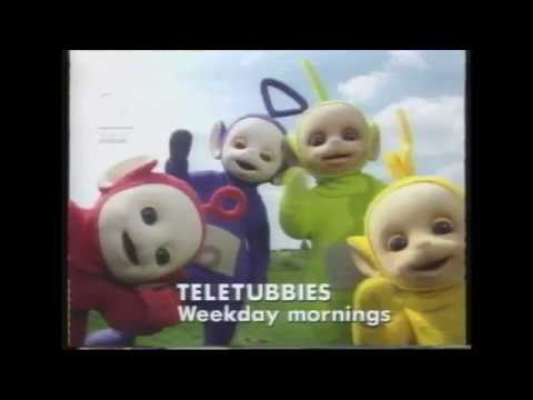 Children's BBC Two - Teletubbies Promo - March 1997