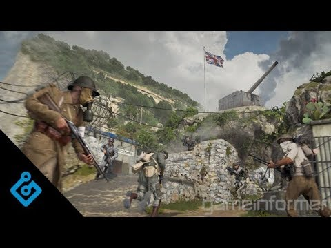 New, Exclusive Call Of Duty: WWII Multiplayer Gameplay (Gibraltar)