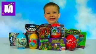 Звёздные Войны Майнкрафт Тачки Дисней мини фигурки сюрпризы с игрушками распаковка surprise unboxing