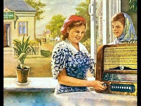 Москва, 1954, Путешествие по ГУМу Бытовая техника на прилавках магазина Фильм