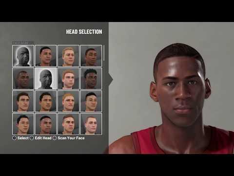 NBA 2K19 - How to create Rookie Michael Jordan (1984-'85 Season)