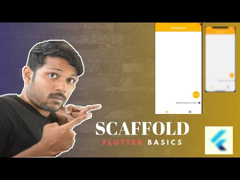 Scaffold Flutter with Example | Androidmonks - Android Monks