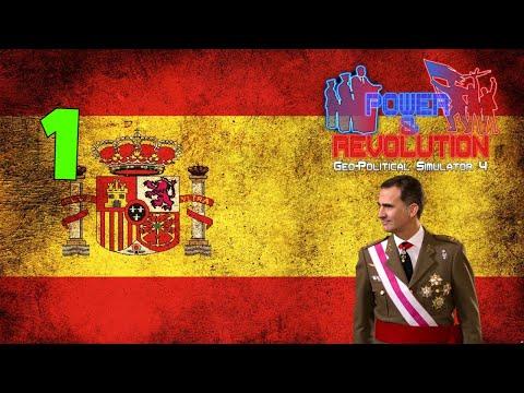 Spain Part 1 Geopolitical Simulator 4 Power & Revolution 2020 Edition