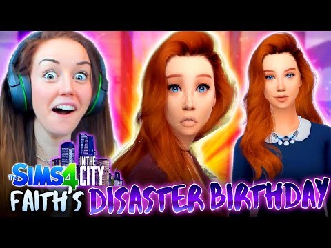 CAN FAITH AGE UP WELL!? 🎁 (The Sims 4 IN THE CITY #37!💒)