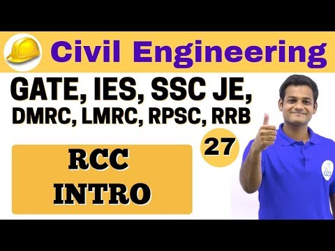 4:40 PM | Civil by Nikhil Sir | Day #27 | RCC INTRO