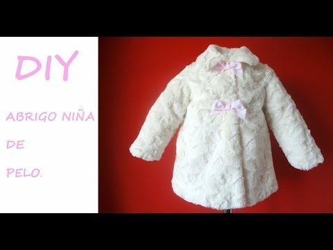 961e46169 Como hacer un Abrigo de niña. Diy Girl coat with - YouTube