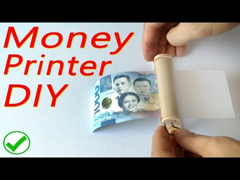 How to make Money printer - DIY tutorial