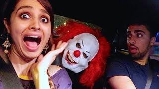KILLER CLOWN GOT IN MY CAR !!!