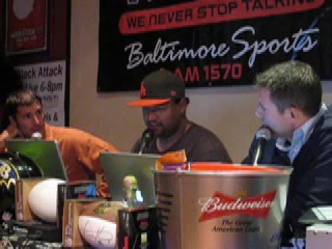Matt Stover talks about Baltimore youth sports