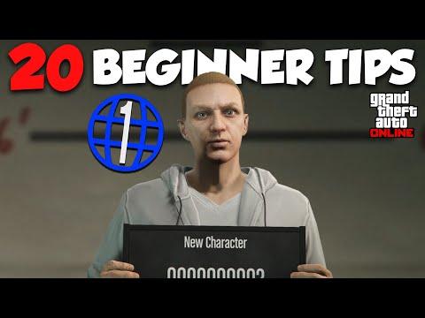 Top 20 MUST KNOW Beginner Tips In GTA Online