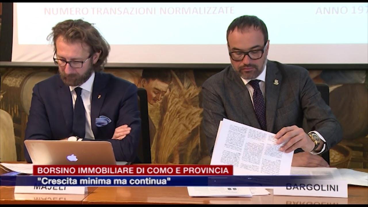 """0eef47cc9f Borsino immobiliare di Como e provincia. Il presidente di Fimaa Bargolini:  """"Crescita minima ma continua"""" – Espansione TV"""