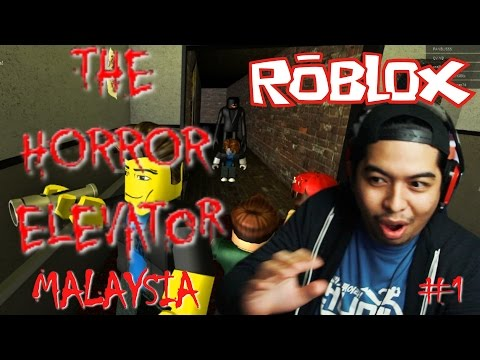 Aku Benci Hantu Jepun ! | The Horror Elevator #1 | Roblox | Malaysia