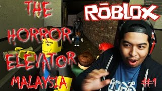 I hate Japanese ghosts! | The Horror Elevator #1 | Roblox | Malaysia