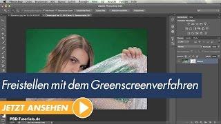 Photoshop Tutorial: Freistellen mit dem Greenscreenverfahren